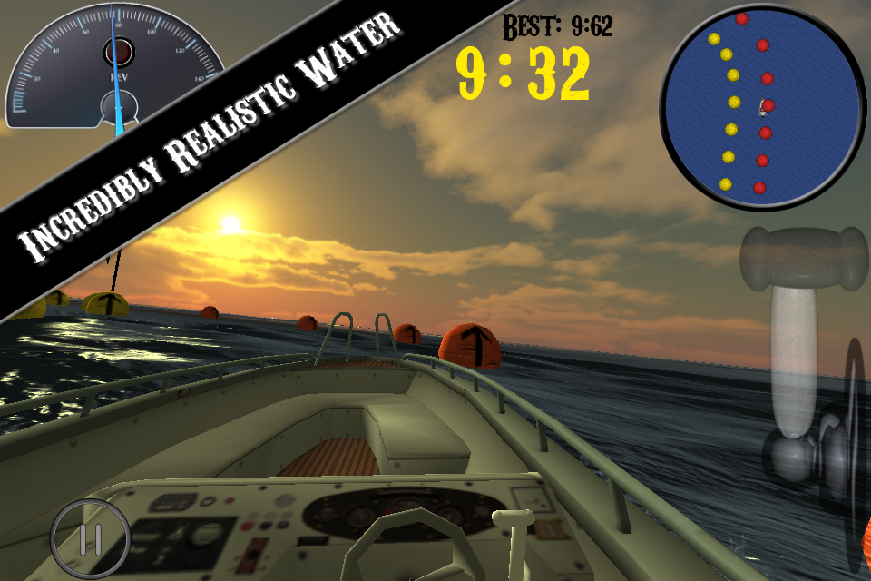 Screenshot iBoat Racer